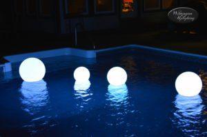 LED floating globes