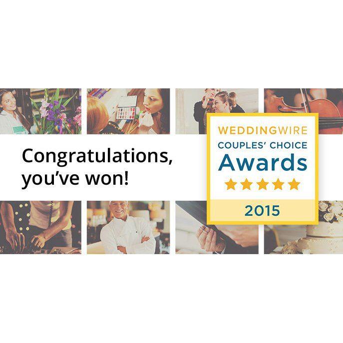 Press Release: Wilmington Uplighting Wins a WeddingWire Couples' Choice Award® 2015