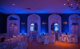 event lighting color change room wilmington nc events