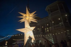 paper star lanterns event wilmington nc