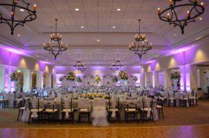 lavender event led uplighting wilmington uplighting