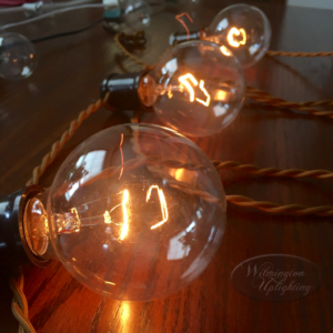 Edison string for wedding reception events and parties