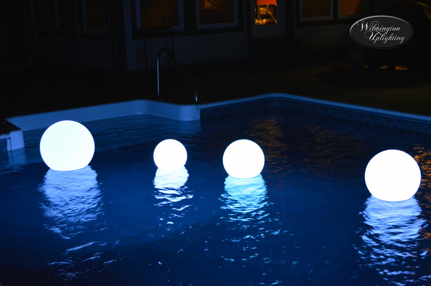 indoor pool lighting outdoor lighted indoor outdoor floating led pool globes wilmington uplighting