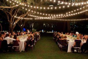 Outdoor String Lighting, cafe lighting, edison lights
