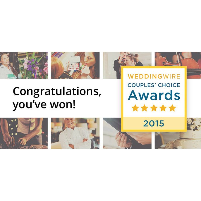 Press Release: Wilmington Uplighting Wins a WeddingWire Couples' Choice Award® 2015