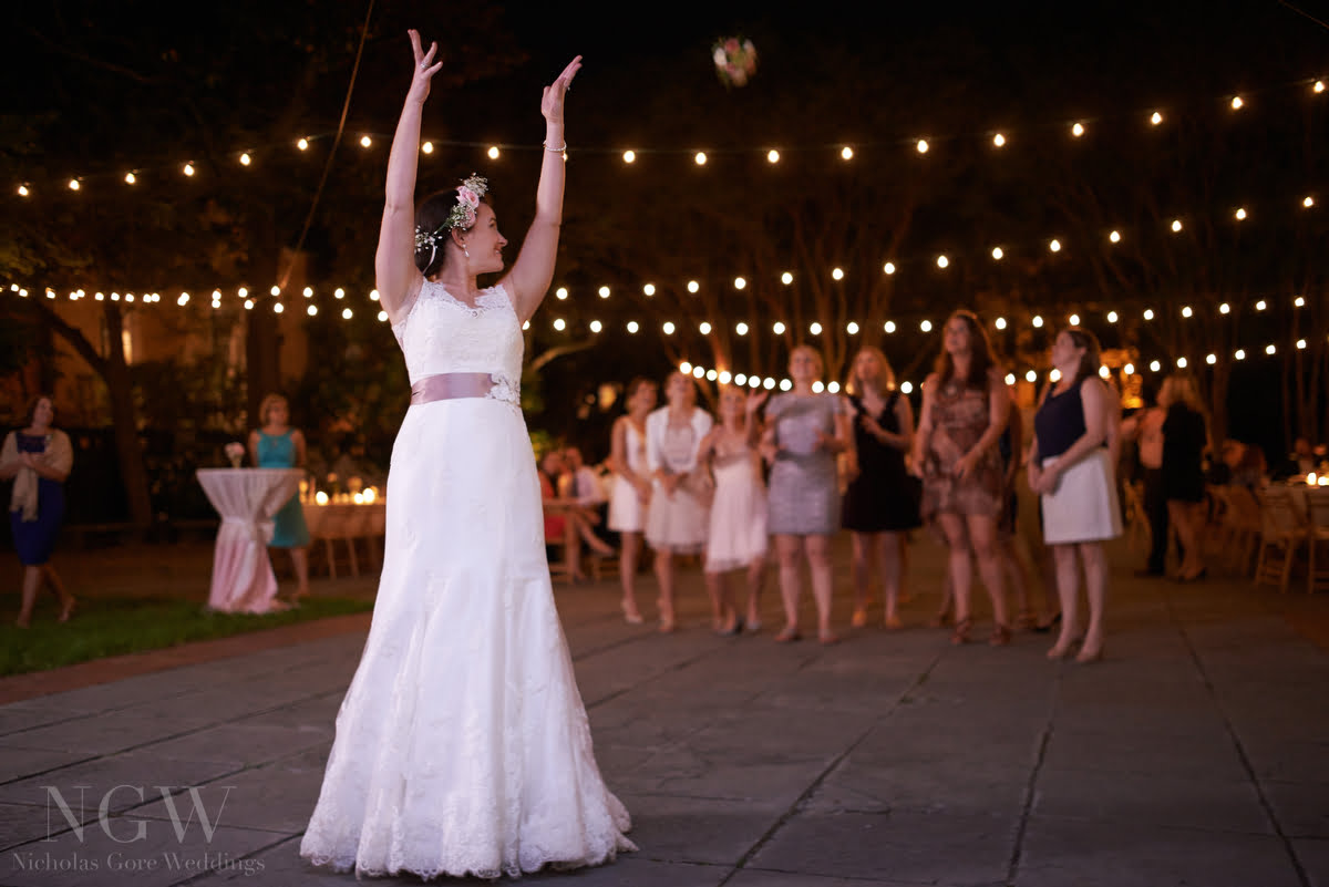 Ryan & Abby's Historic Charleston Wedding Reception at Gibbes Museum
