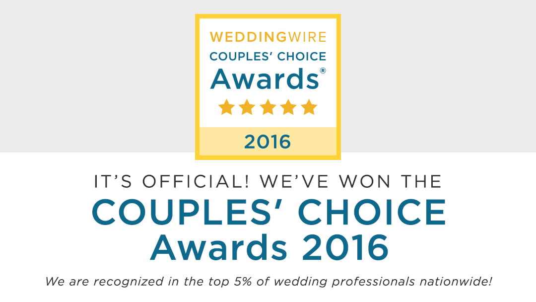Wilmington Uplighting Wins a WeddingWire Couples' Choice Award® 2016