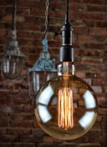 WUL vintage thread filament 7in bulb