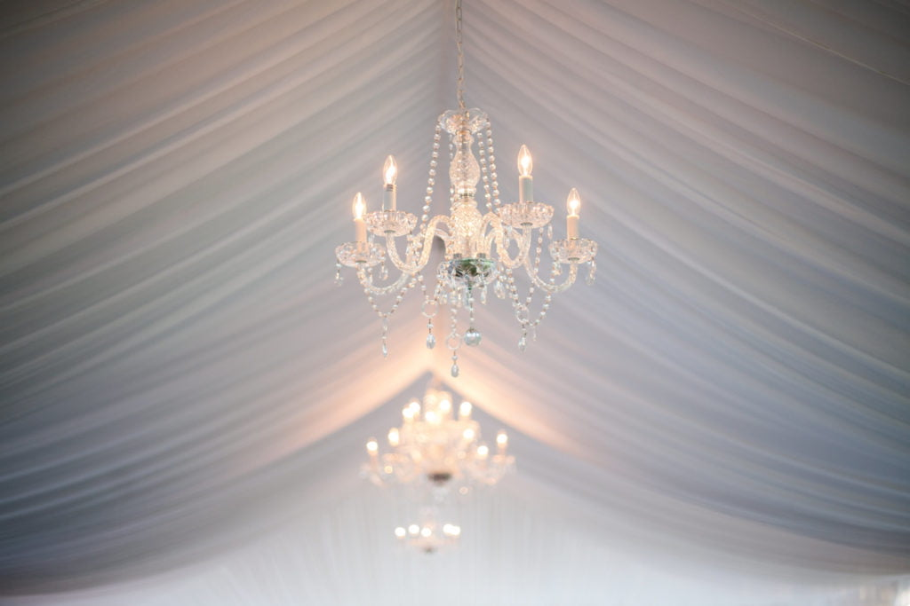 Wilmington Uplighting Chandelier Event Rental Weddings