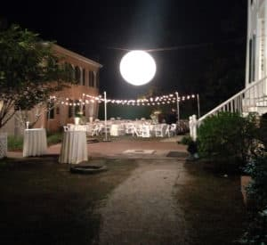 Large lantern lighting moon ball globe