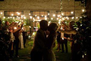 Wrightsville Manor Wilmington Uplighting wedding lighting